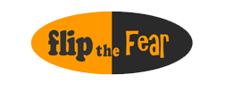 Flip the fear logo